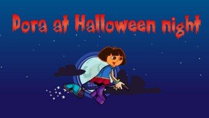 Даша в ночь Хеллоуина
