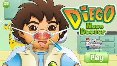 Диего у ЛОР врача