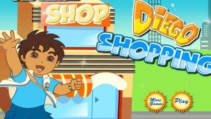 Диего в магазине за покупками
