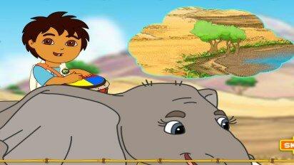 Диего едет на сафари