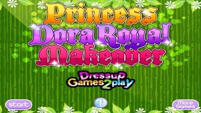 Макияж принцессы Даши