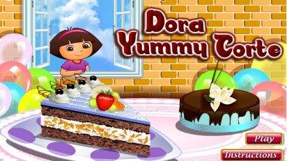 Даша путешественница и торт