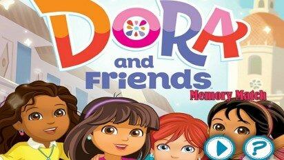 Даша с друзьями, игра на память