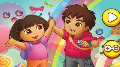 Диего и Даша в мире сладостей
