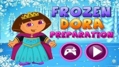 Даша и костюм снежной королевы