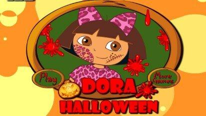Даша и костюм для Хеллоуина
