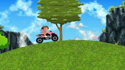 Даша на квадроцикле