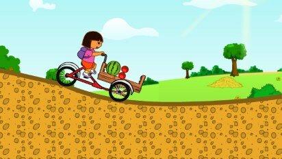 Даша, доставка на велосипеде